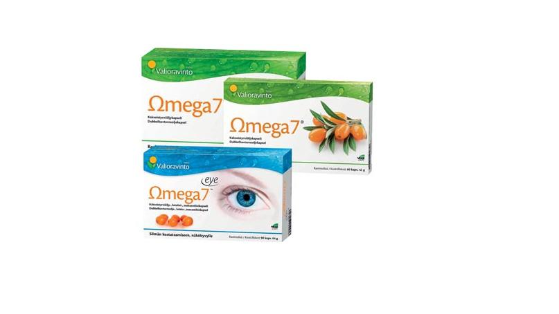 omega 7 kaksoistyrniöljykapseli life